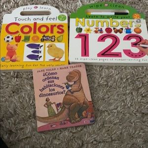 Baby books color & numbers